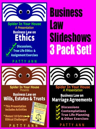 Ethics, Civics & Business Law